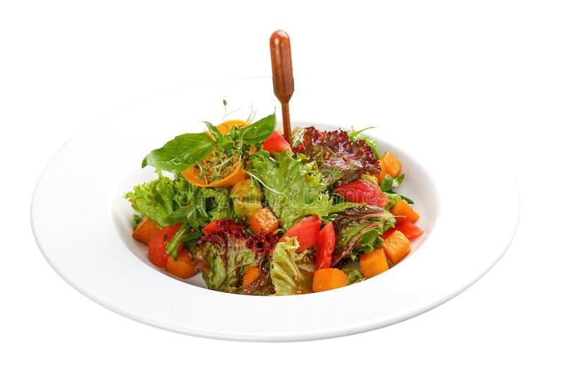 Salade et avocat de potiron photo libre de droits