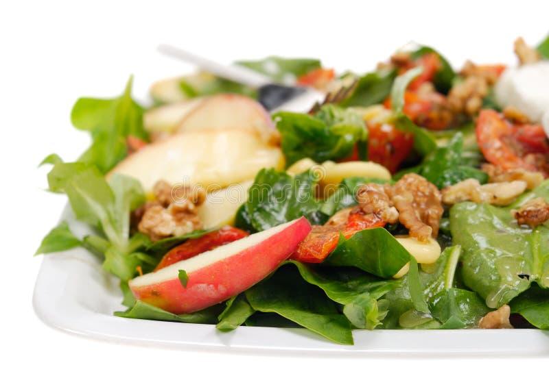 Salade fraîche et saine photo libre de droits