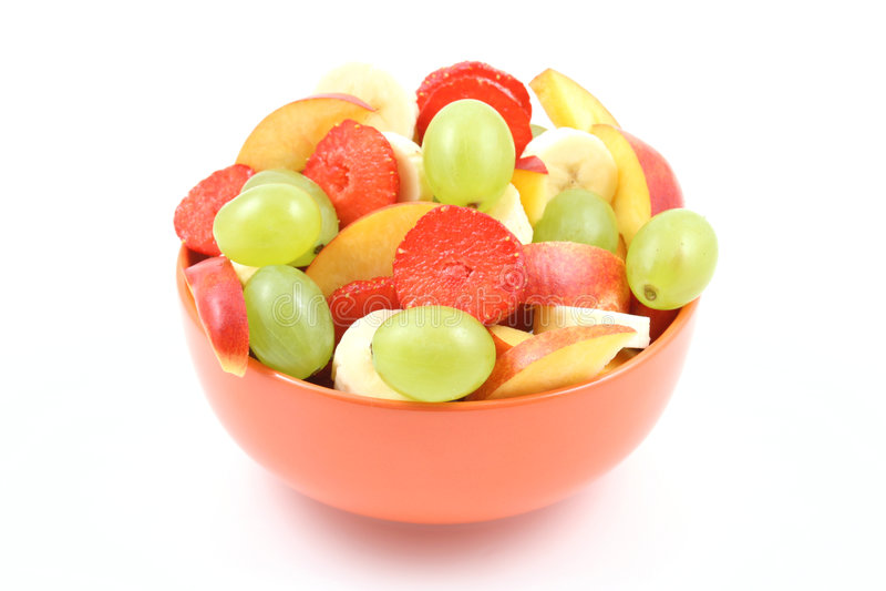 Salade fruitée image libre de droits