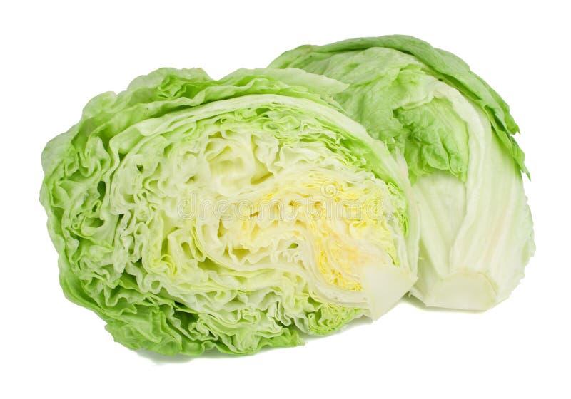 Salade 'Iceberg'. images libres de droits