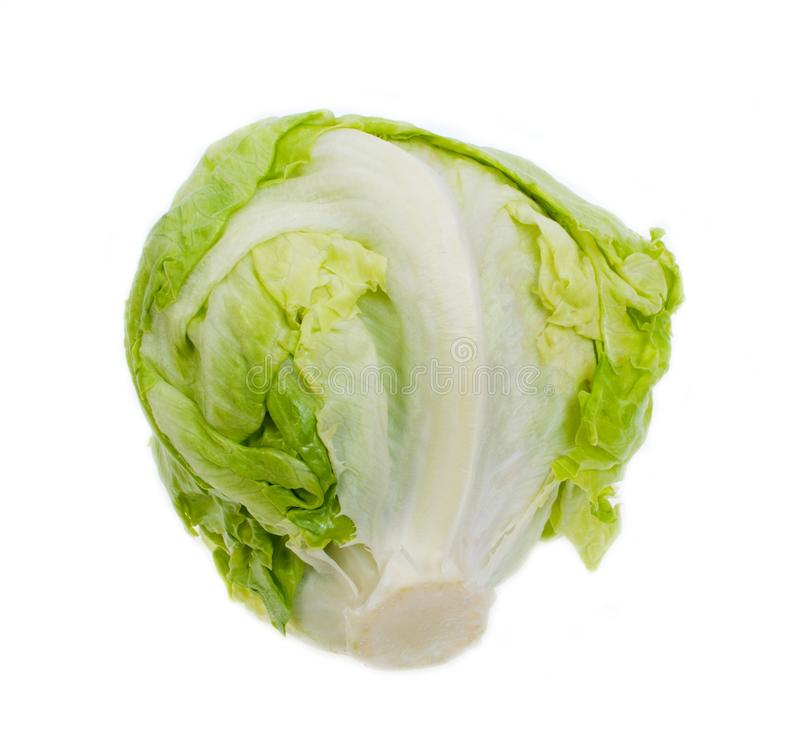 Salade 'Iceberg' photographie stock libre de droits