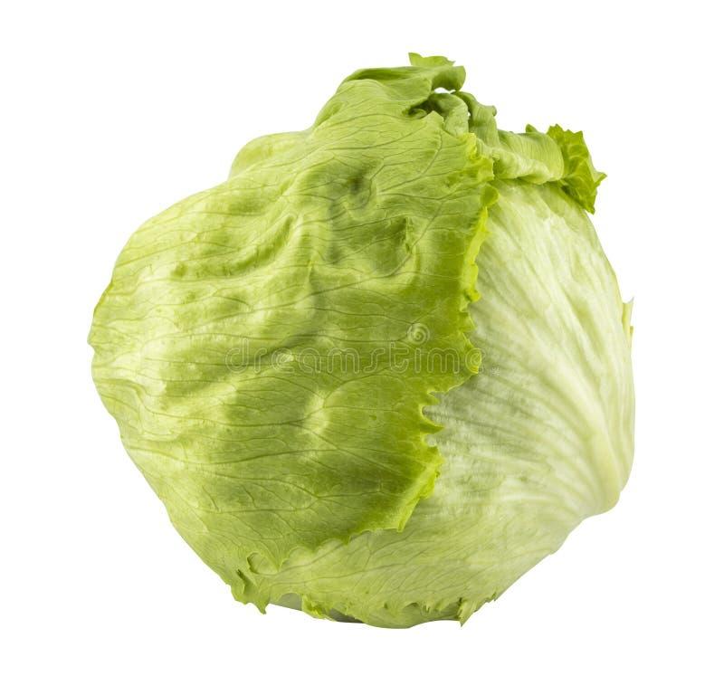 Salade 'Iceberg' verte images stock