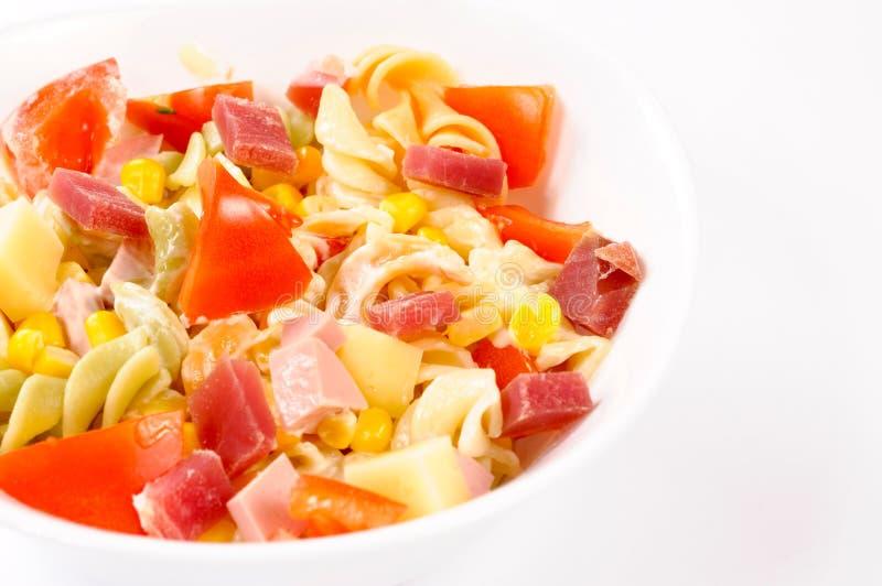Salade in kop royalty-vrije stock afbeeldingen