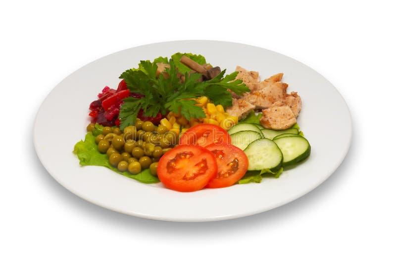 Salade mixte 2 photos libres de droits