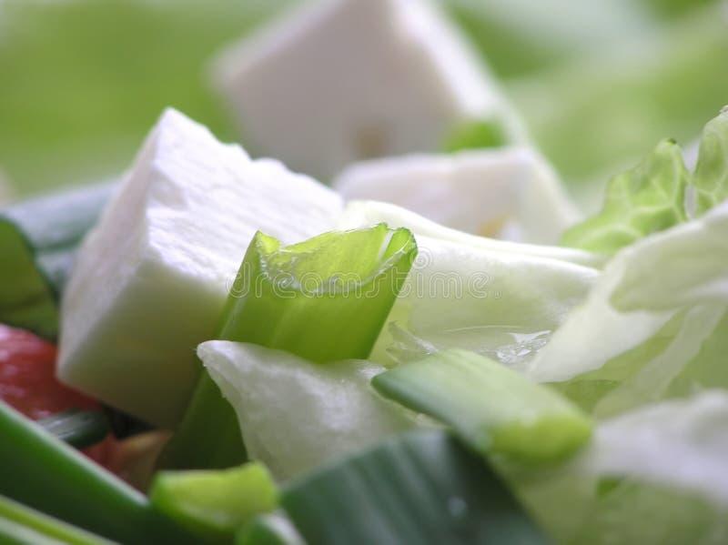 Salade mixte images libres de droits