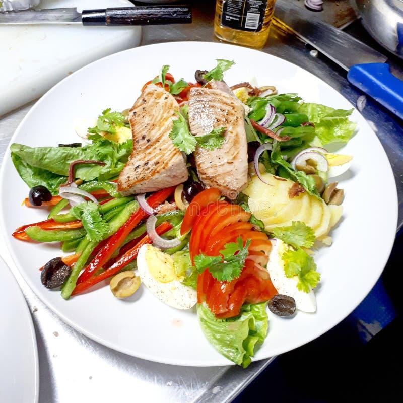 Salade niçoise 图库摄影