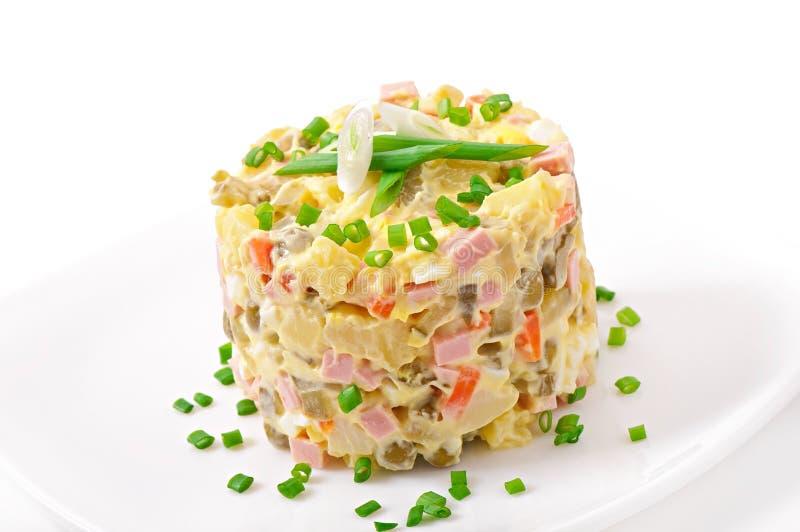 Salade Olivier image stock