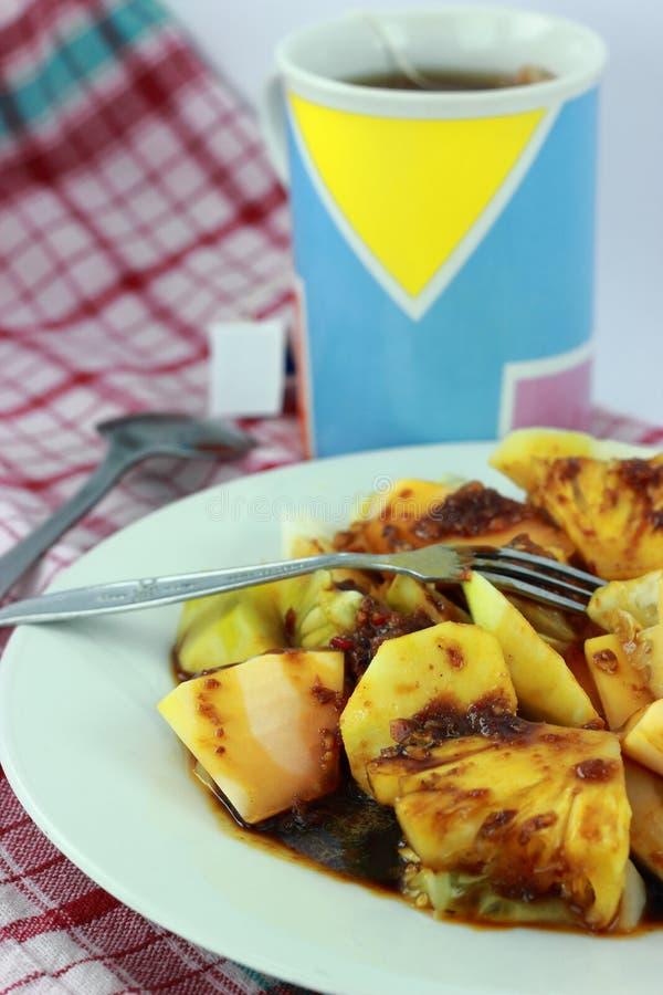 Salade Rujak stock afbeeldingen