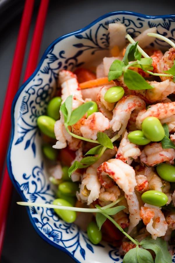 Salade saine de style asiatique photos stock