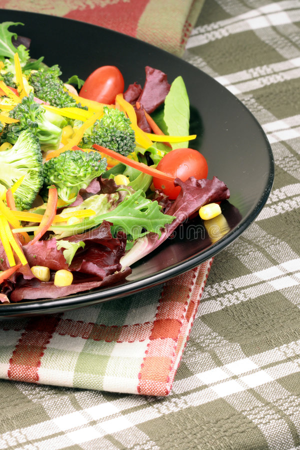 Salade saine fraîche