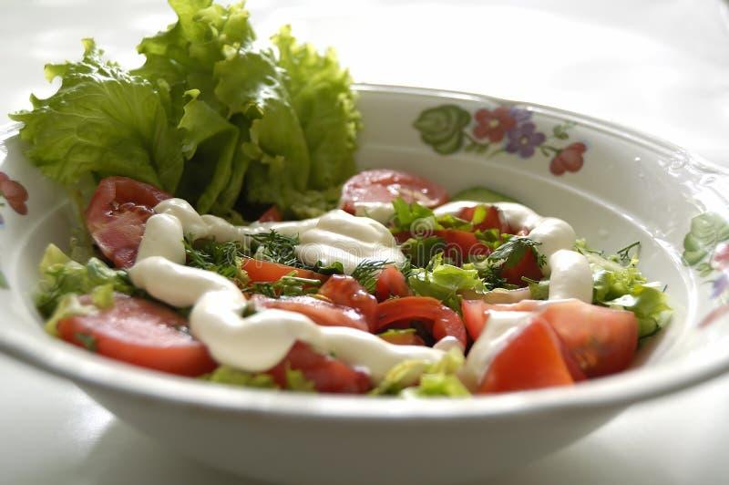 Salade végétale image libre de droits
