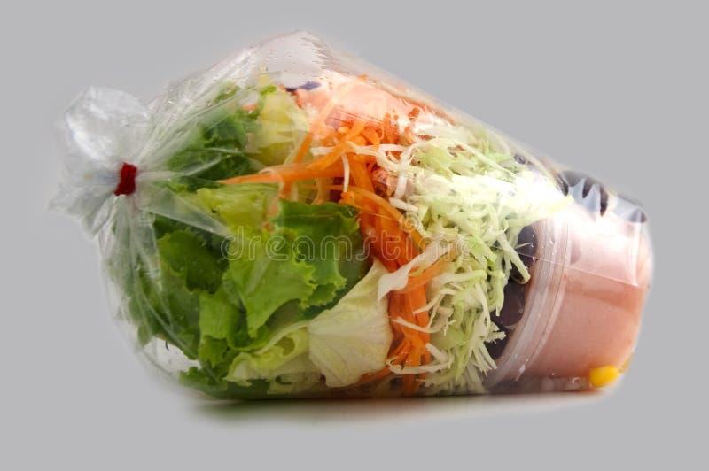 Salade végétale photo stock