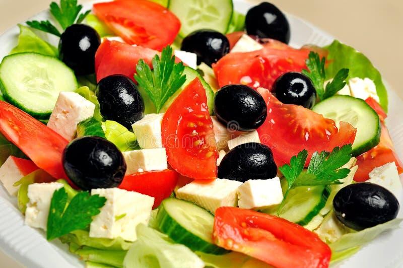 Download Salade végétale photo stock. Image du instruction, dîner - 45360226