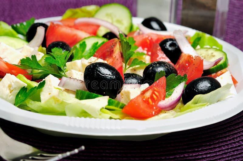 Download Salade végétale photo stock. Image du lame, régime, nourriture - 45360244