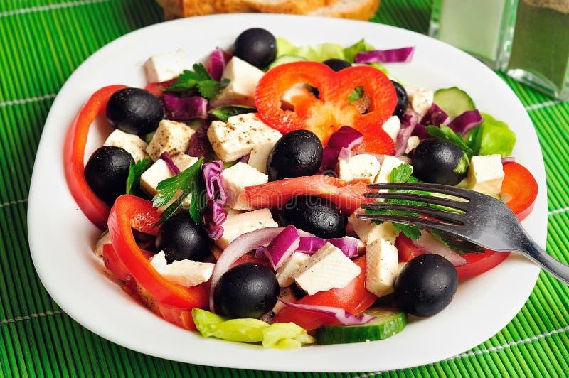 Download Salade végétale photo stock. Image du régime, fromage - 45360378