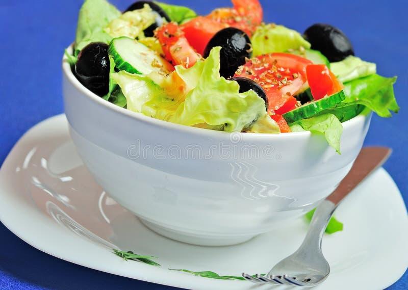 Download Salade végétale photo stock. Image du laitue, comestible - 45360412