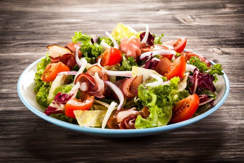 Salade végétale photos stock