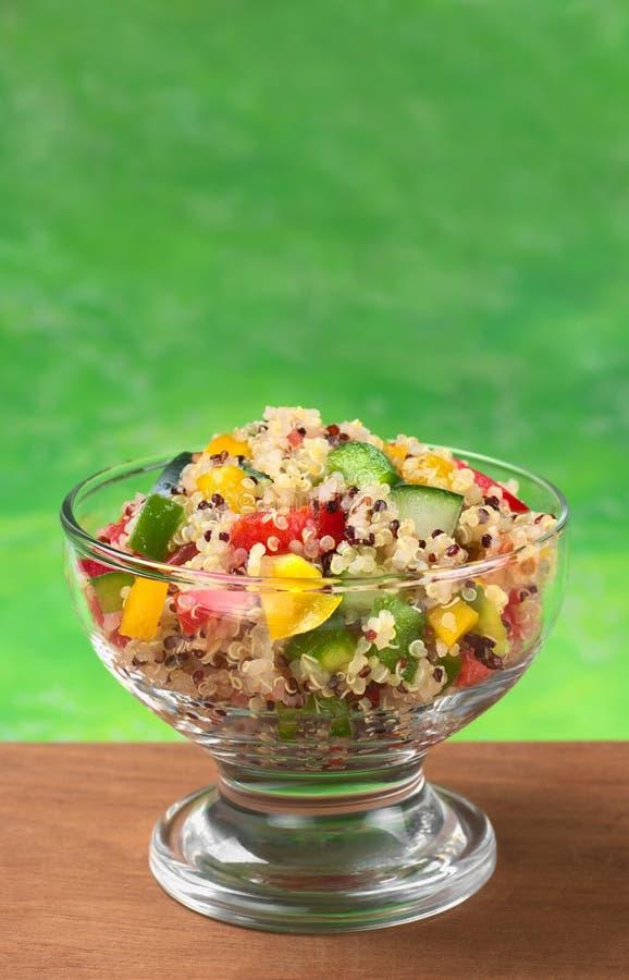 Salade végétarienne de quinoa images stock