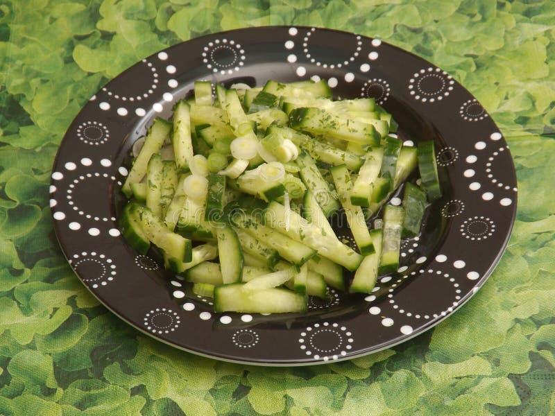 Download Salade van komkommer stock foto. Afbeelding bestaande uit gezond - 54084028