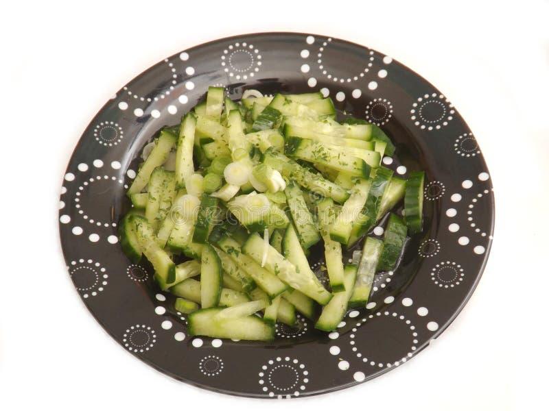 Download Salade van komkommer stock foto. Afbeelding bestaande uit voedsel - 54084044