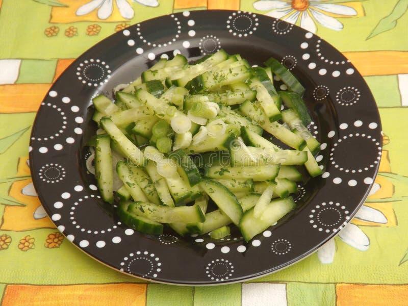 Download Salade van komkommer stock foto. Afbeelding bestaande uit voedsel - 54084140