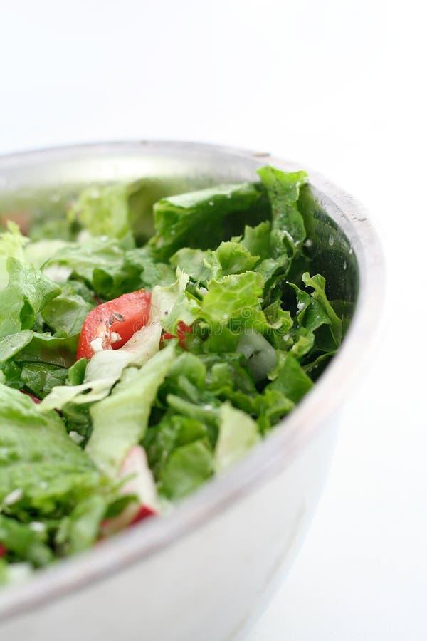 Salade verte images libres de droits