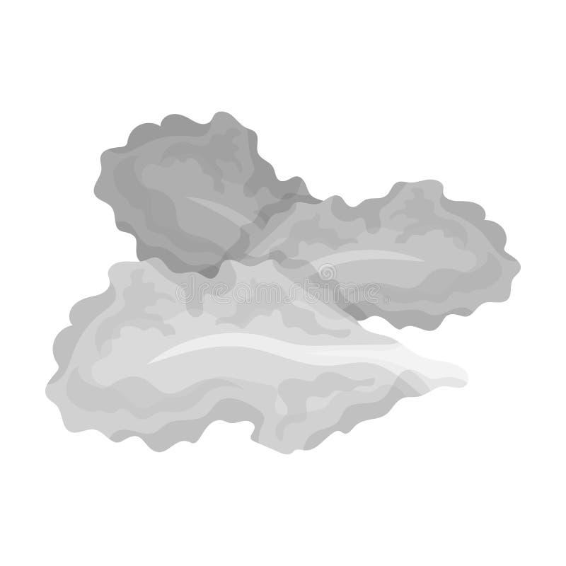 Saladebladeren Burgers en de ingrediënten kiezen pictogram in zwart-wit de voorraadillustratie van het stijl vectorsymbool uit vector illustratie