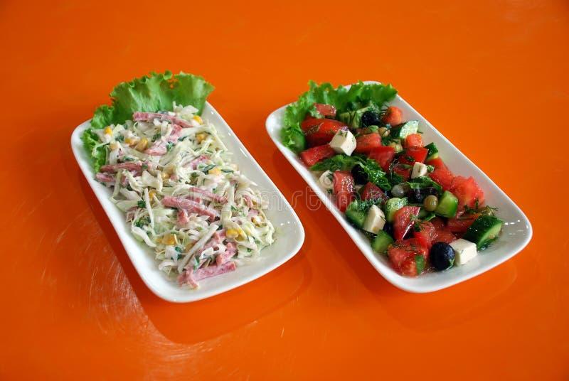 Salades photos libres de droits