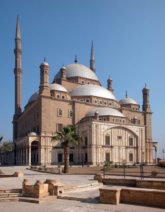 Download The Saladin Citadel Of Cairo, Egypt Stock Photo - Image of dome, egypt: 1239860
