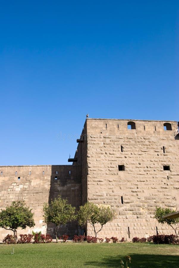 Saladin Zitadelle von Kairo Ägypten lizenzfreie stockfotos