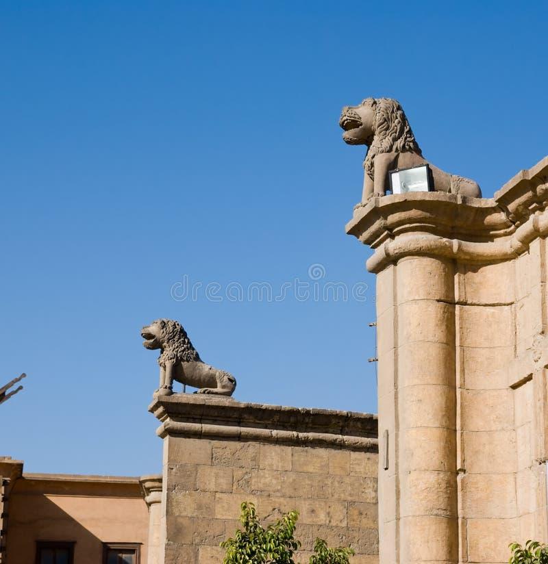 Saladin Zitadelle von Kairo Ägypten stockbilder
