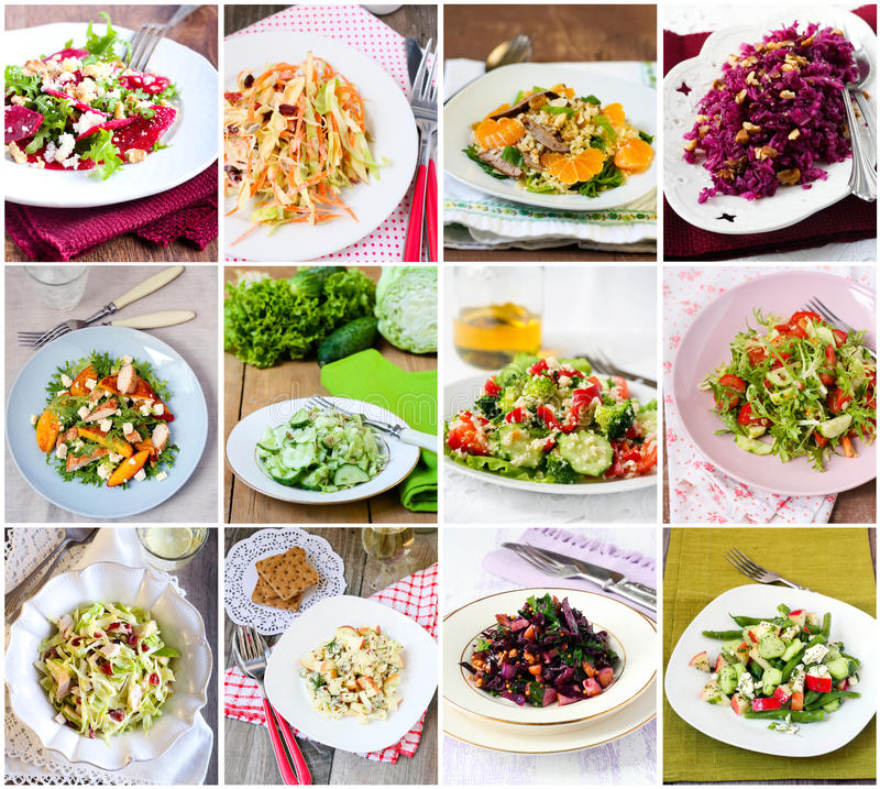 Free Salads Stock Photo - 36688190