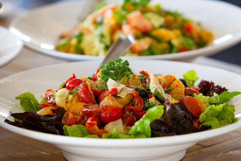 salads fotos de stock royalty free