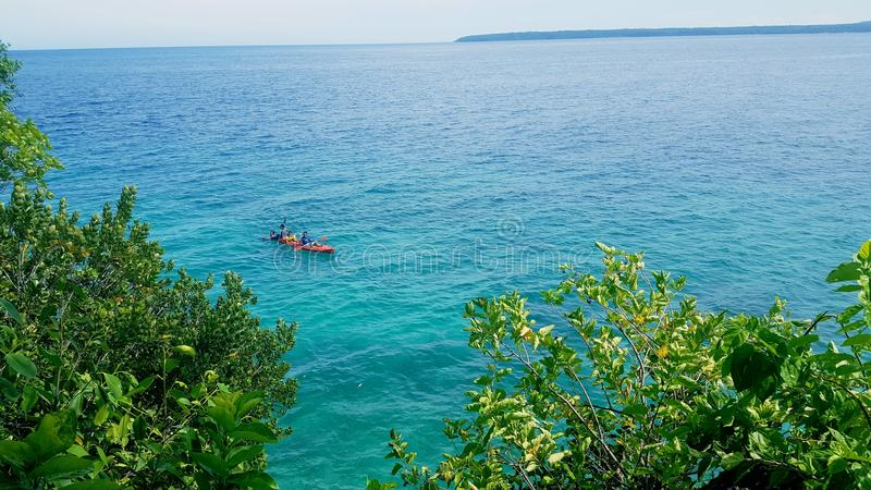 Salagdoong strand royaltyfri fotografi