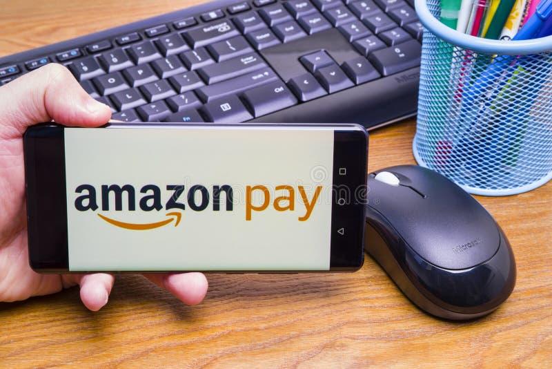 Salaire d'Amazone photos stock