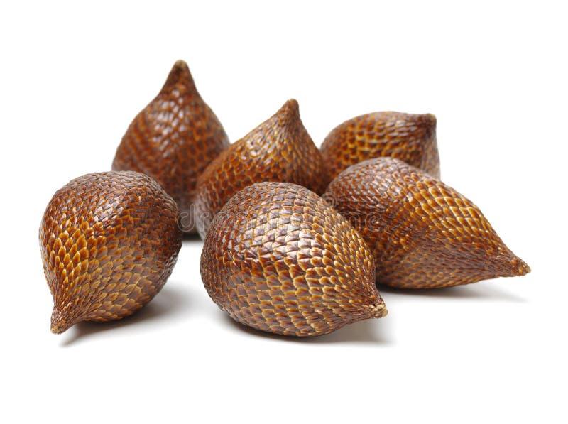 Salak eller ormfrukt arkivfoton