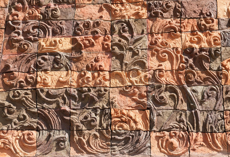 Salaloi tailandese del wat del tempio fotografia stock