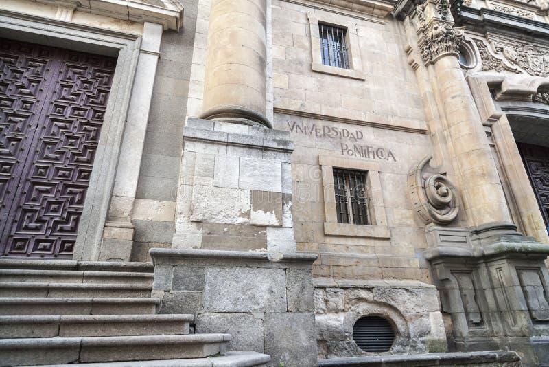 Salamanca, Castilla Leon, Espanha fotografia de stock royalty free