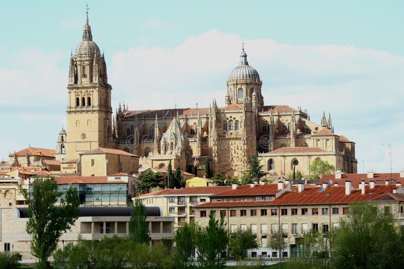 Salamanca cathedral royalty free stock photos