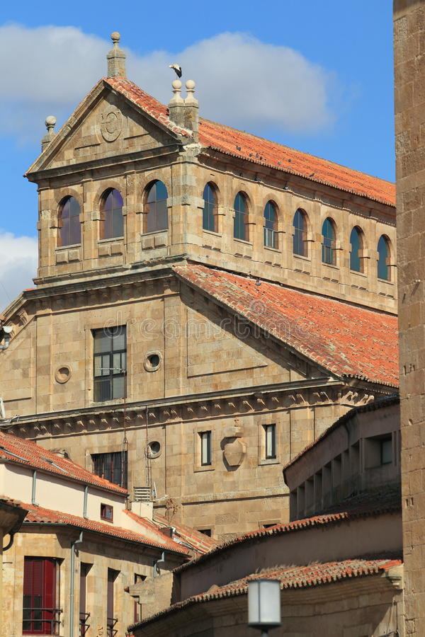 Salamanca histórico imagens de stock royalty free
