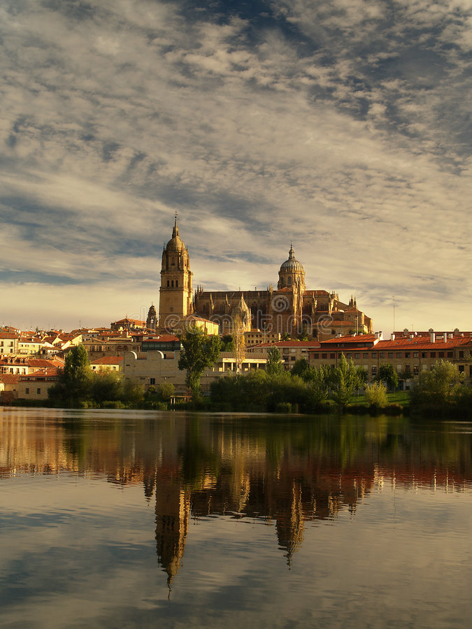 Salamanca-Kathedrale lizenzfreie stockfotografie