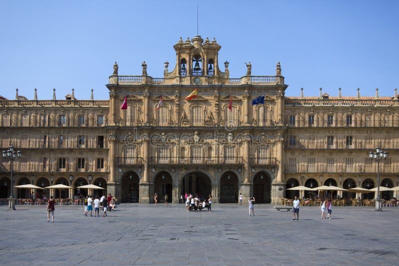 Salamanca - Plaza Major - Spain Editorial Photo