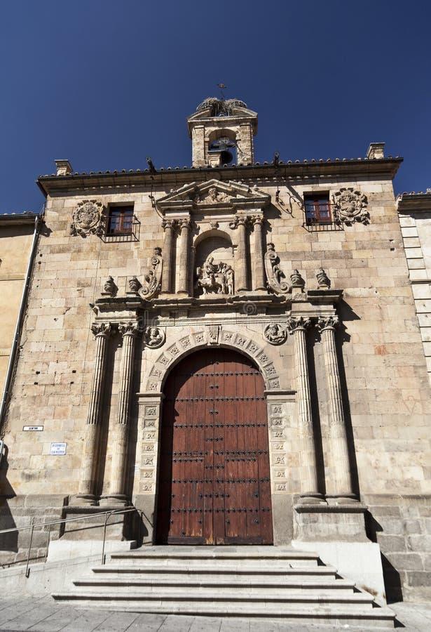Salamanca San Martin Church stock foto's
