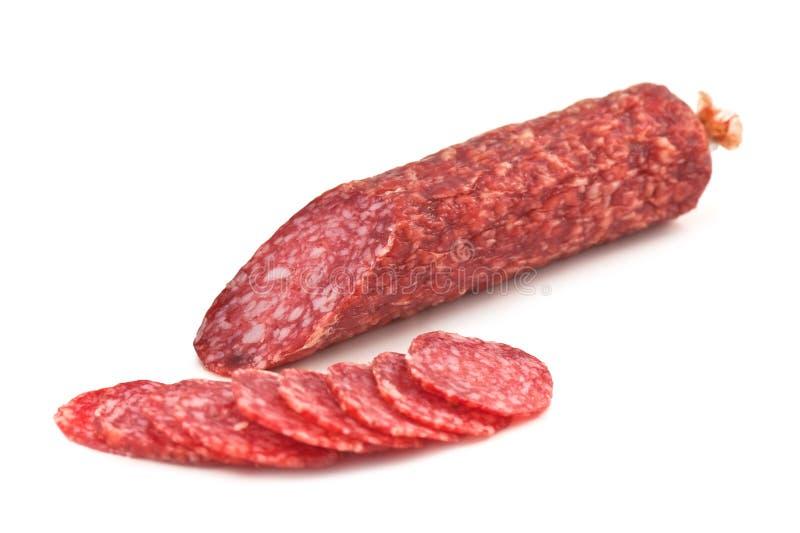 Salami imagem de stock