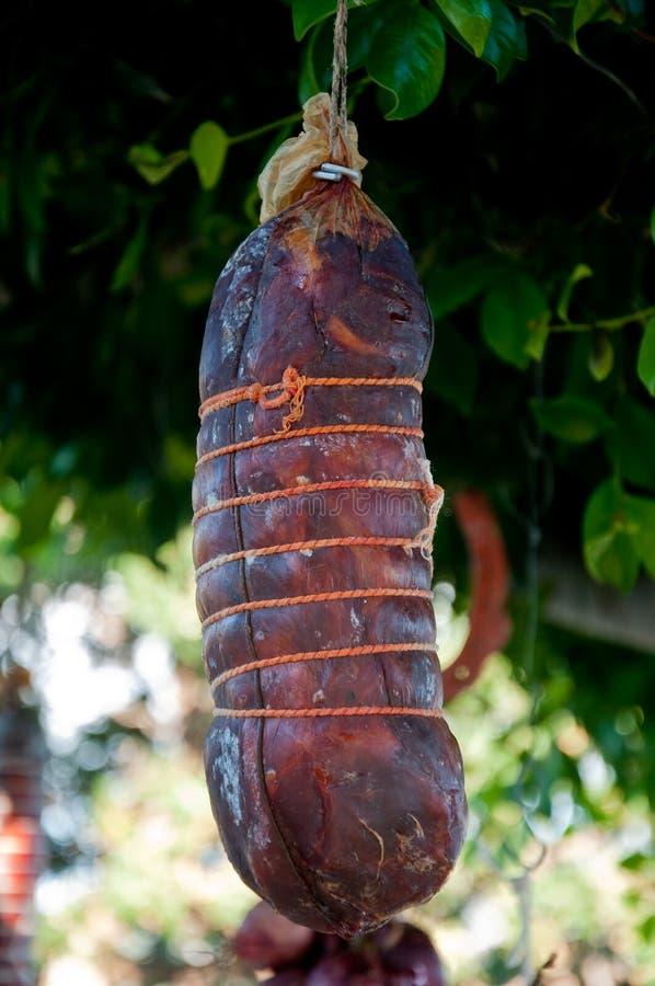 Download Salami Calabrais Typique De Capicollo Délicieux De Salami Photo stock - Image du fond, rouge: 76086586