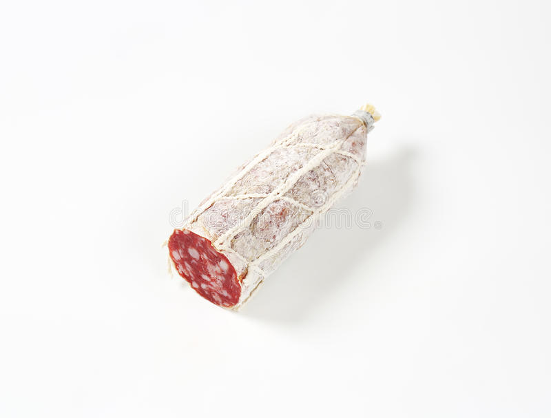 Salami français photo stock
