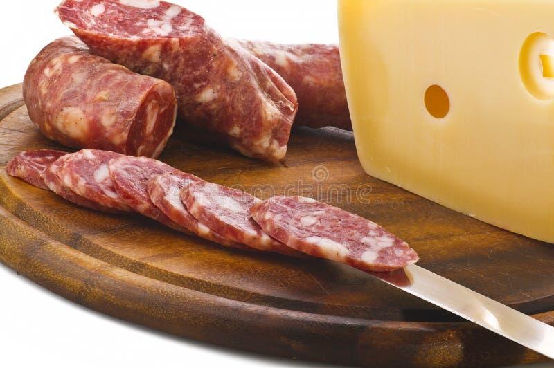 Salami quente fotos de stock