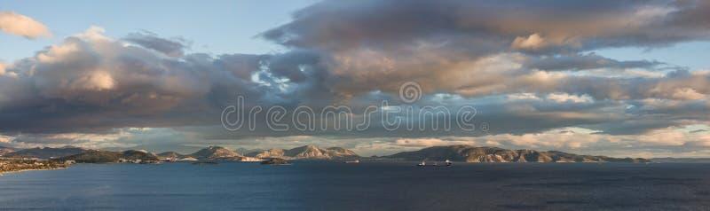 Salamina Insel lizenzfreie stockbilder