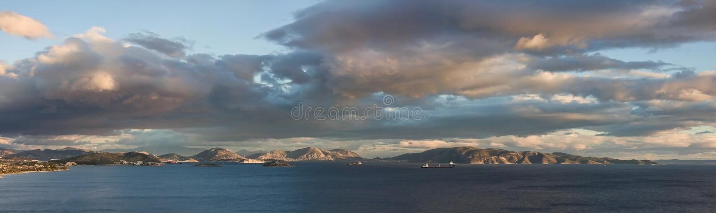 Salamina Island royalty free stock images