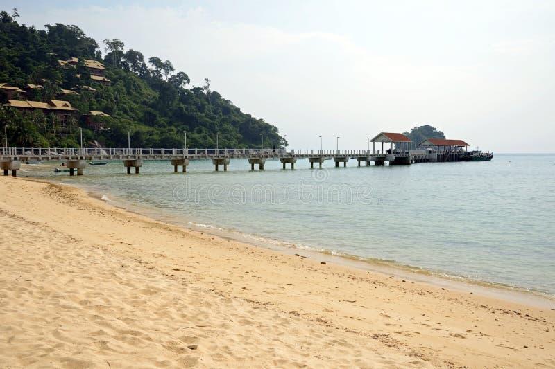 Salang beach royalty free stock photo